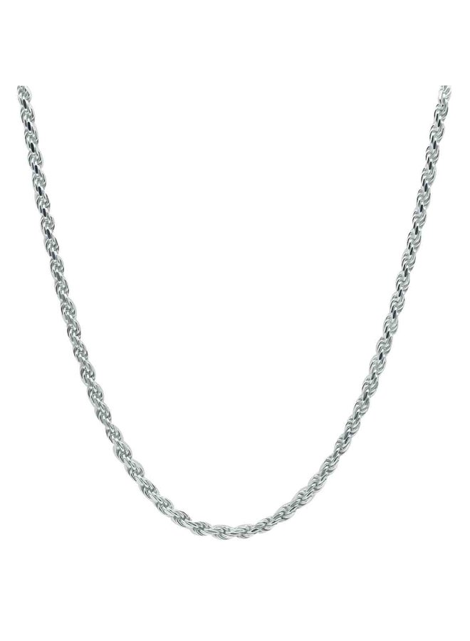 Chaine .925  20'' torsade