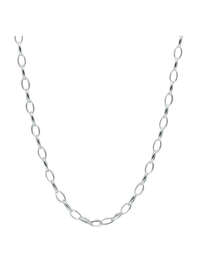 Chaine argent .925 cable 18''