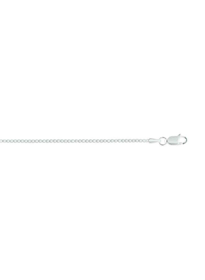 Chaine .925 20'' carré