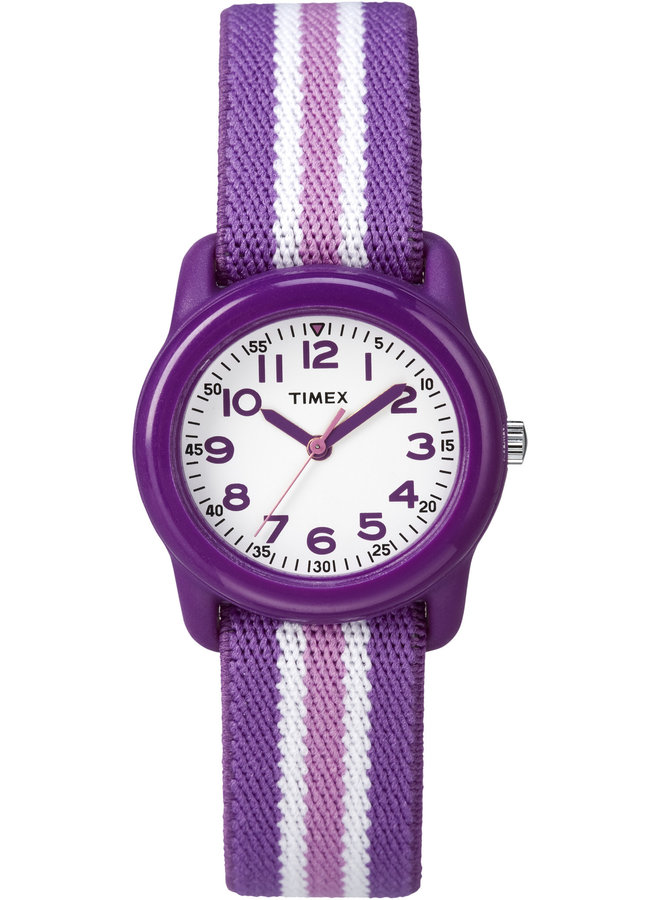 Timex enfant nylon mauve-rose analogue