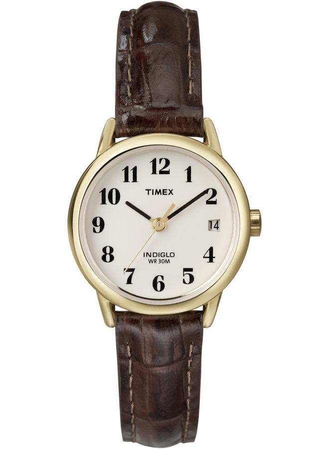 Timex dame indiglo cuir brun