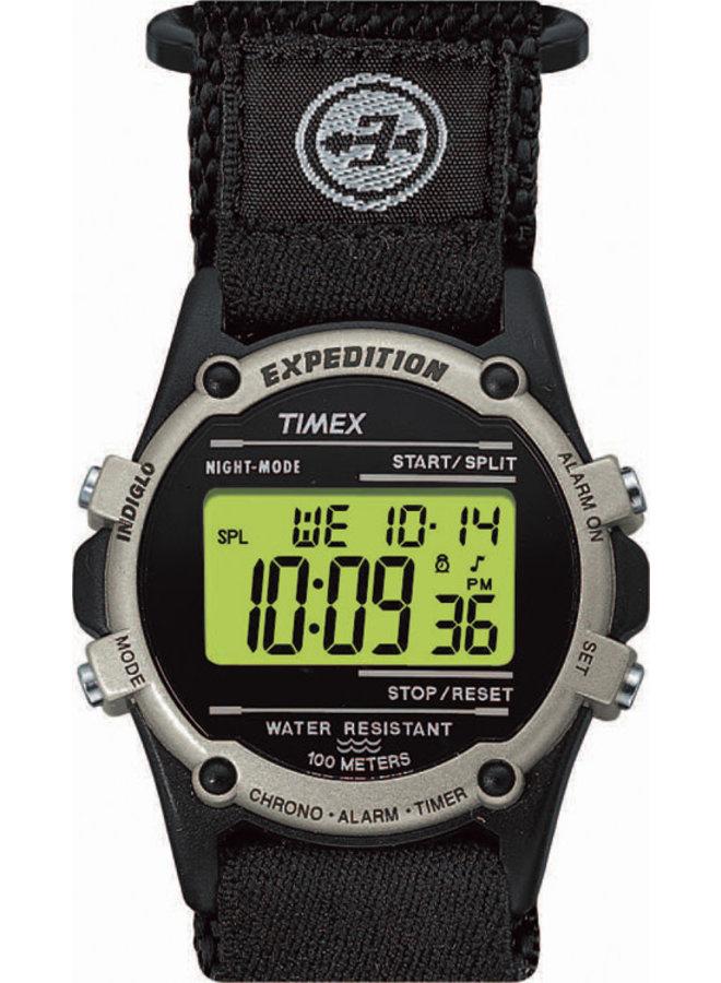 Timex homme digital noir velcro noir