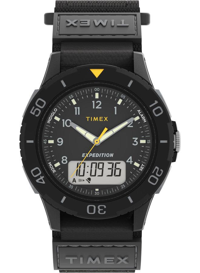 Timex homme digital et analogue noir