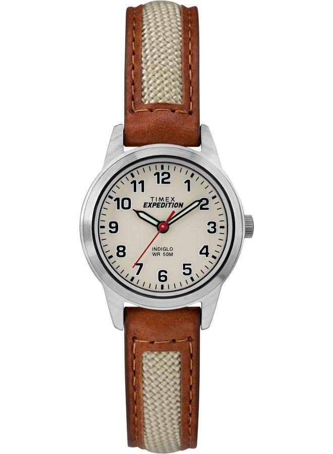 Timex dame indiglo cuir tan