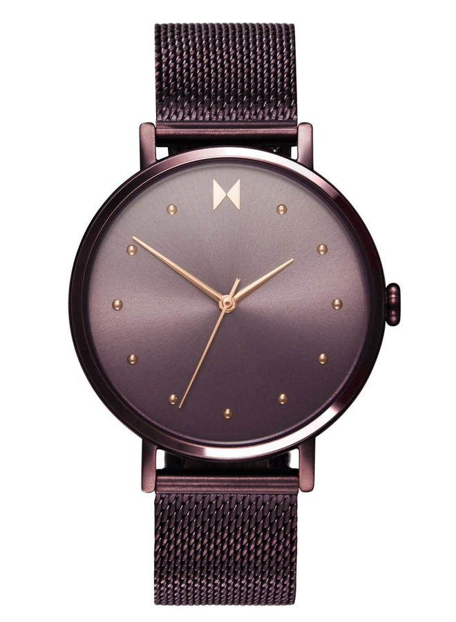 MVMT acier mauve bracelet mèche