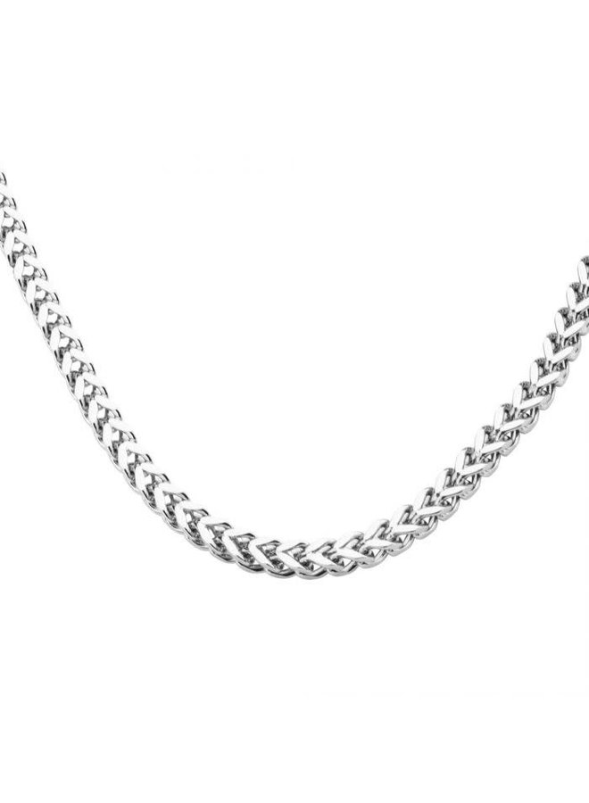 Chaine acier 22'' franco 4mm