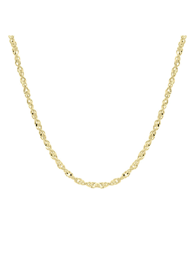Bracelet 10k or jaune 7''