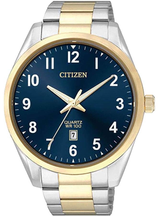 Citizen quartz 2 tons fond bleu 42mm