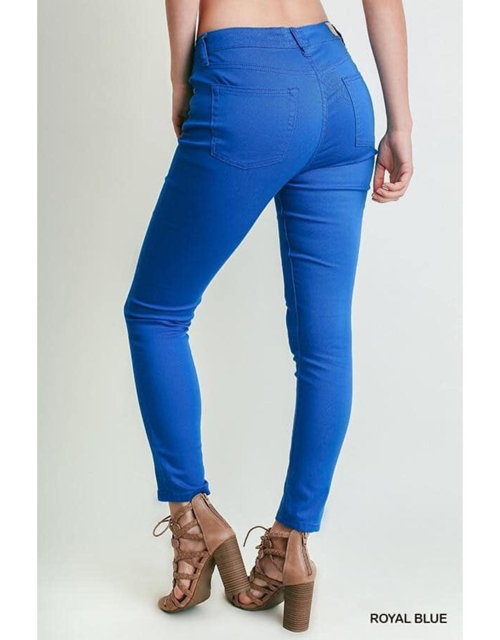 Basic 5 Pocket Stretch Skinny Jeans