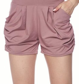 Soft Brushed Harem Shorts