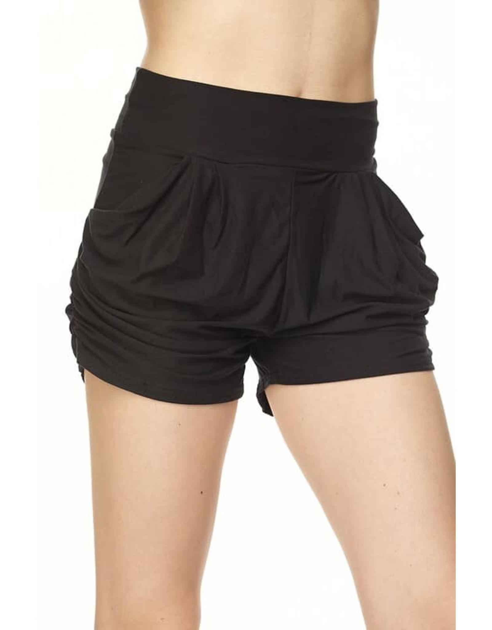 Soft Brushed Harem Shorts