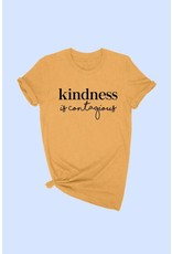 Kindness is Contagious Graphic Tee