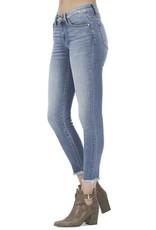 KanCan Petite Raw Hem Skinny Jeans