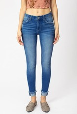 Mid-rise ankle skinny KanCan's