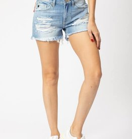 KanCan KanCan Distressed Shorts