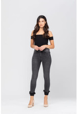 Judy Blue Laurie Destroyed Hem Jeans