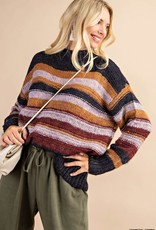 Multi-Striped Sweater