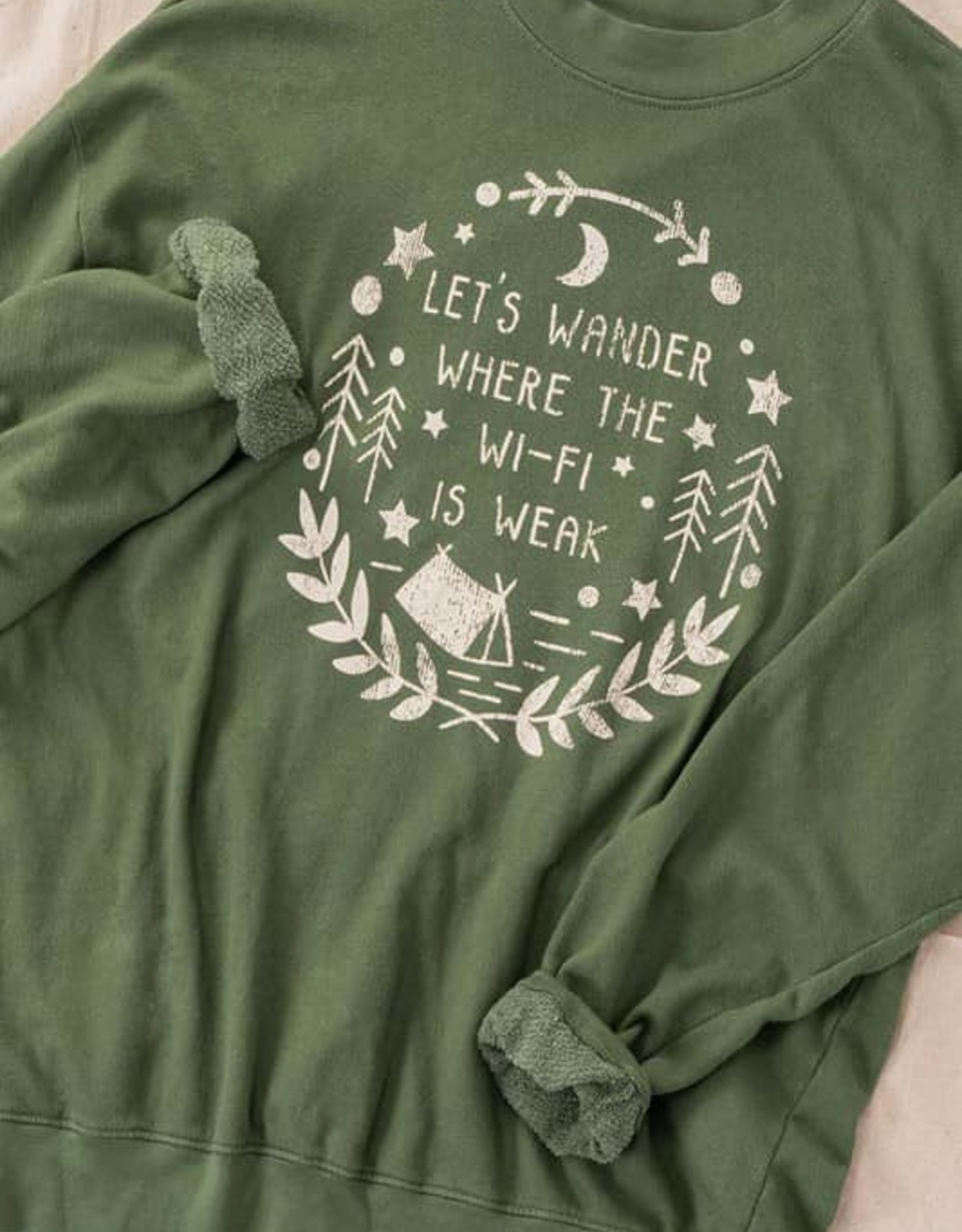 Vintage washed graphic sweatshirt