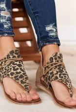 Leopard Sparta Sandal