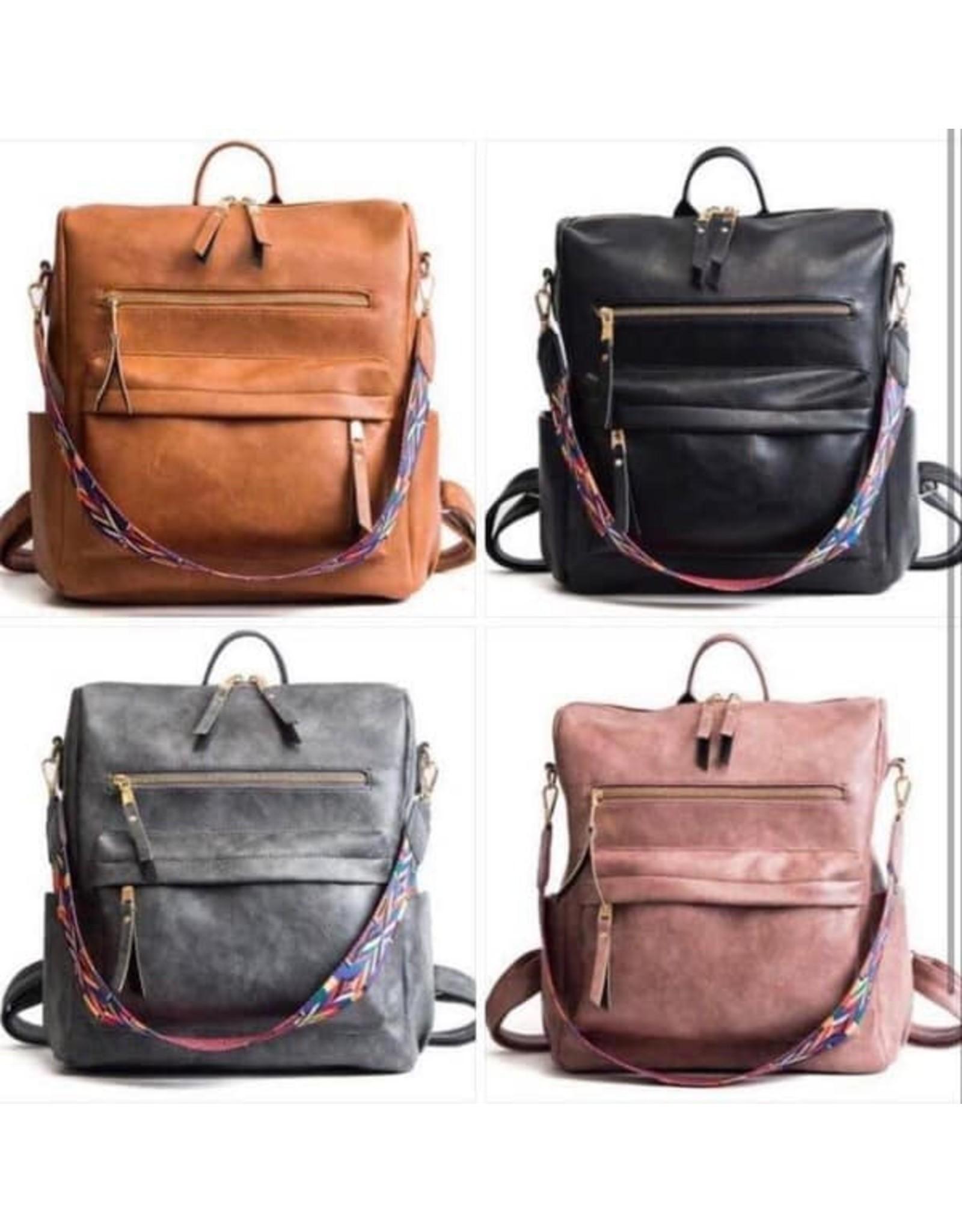 Guitar Strap Backpack Bag