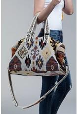 Boho Chic Weekender Bag