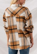 Plaid Oversized Jacket