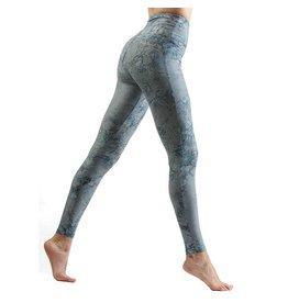 Batik Long Leggings Indigo Marble