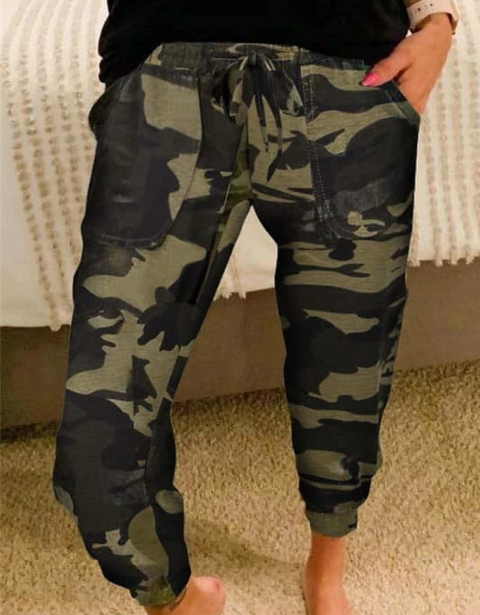Camouflage Casual Pants