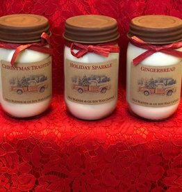 Holiday Collection Candles 16 oz.