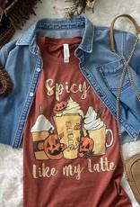 Spicy Like My Latte Tee