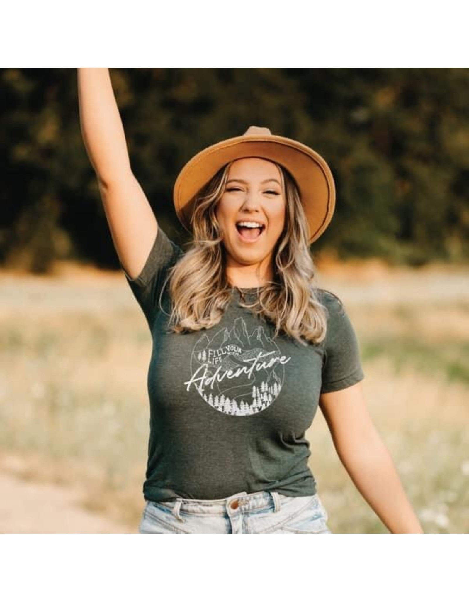 Fill Your Life with Adventure Tee