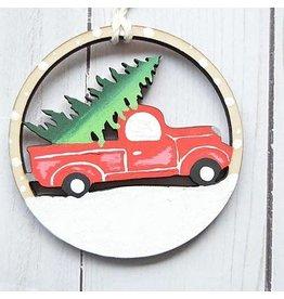 Vintage Truck Ornament