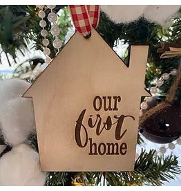 Our First Home Ornament