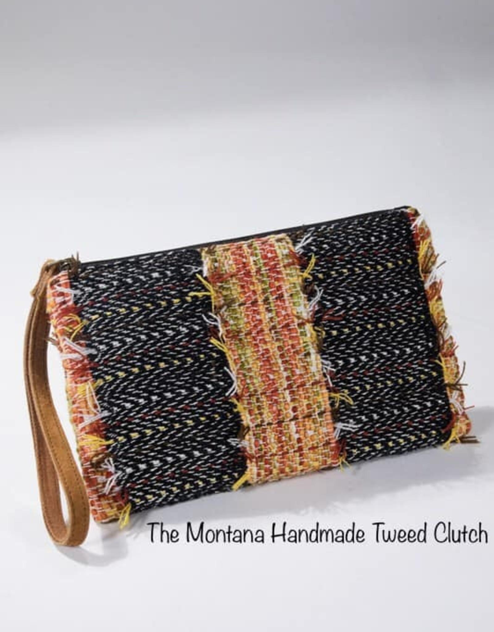Handmade Clutch Wristlet