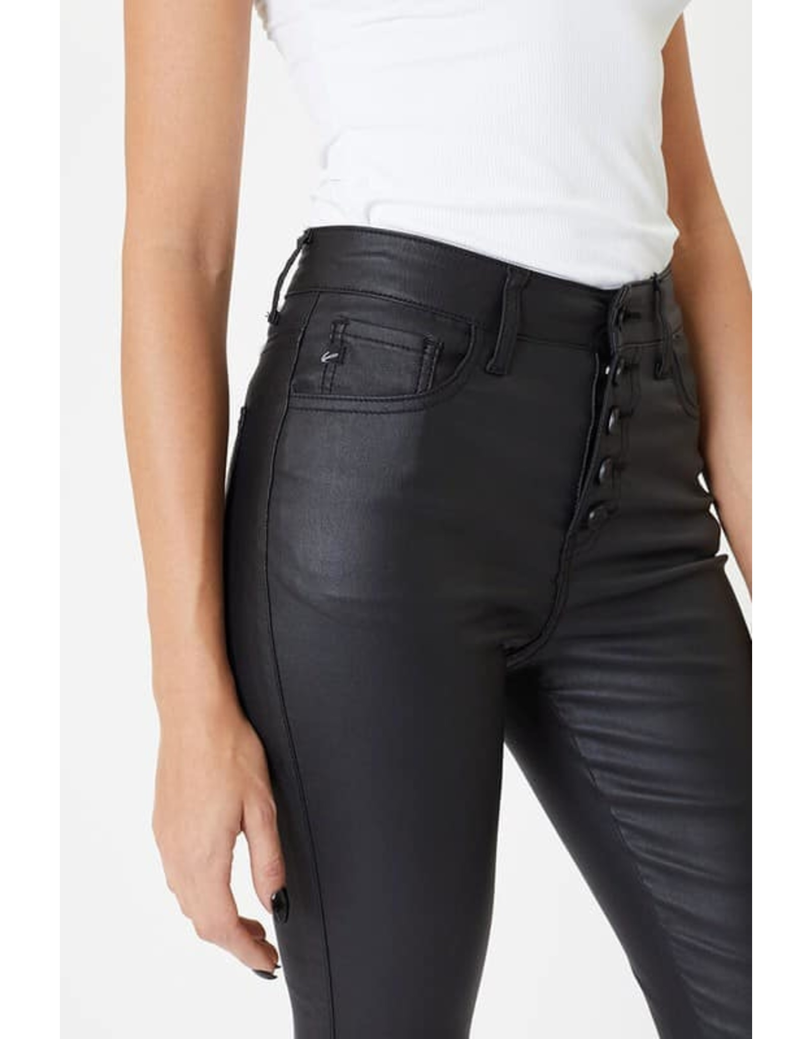 KanCan Faux Leather Jeans