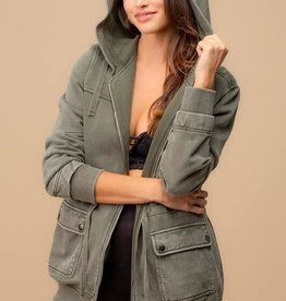 French Terry Cargo Jacket