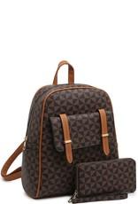 Monogram Flap 2-in-1 Backpack