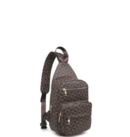 Monogram One Shoulder Backpack