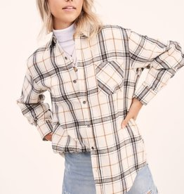 Encore Plaid Top