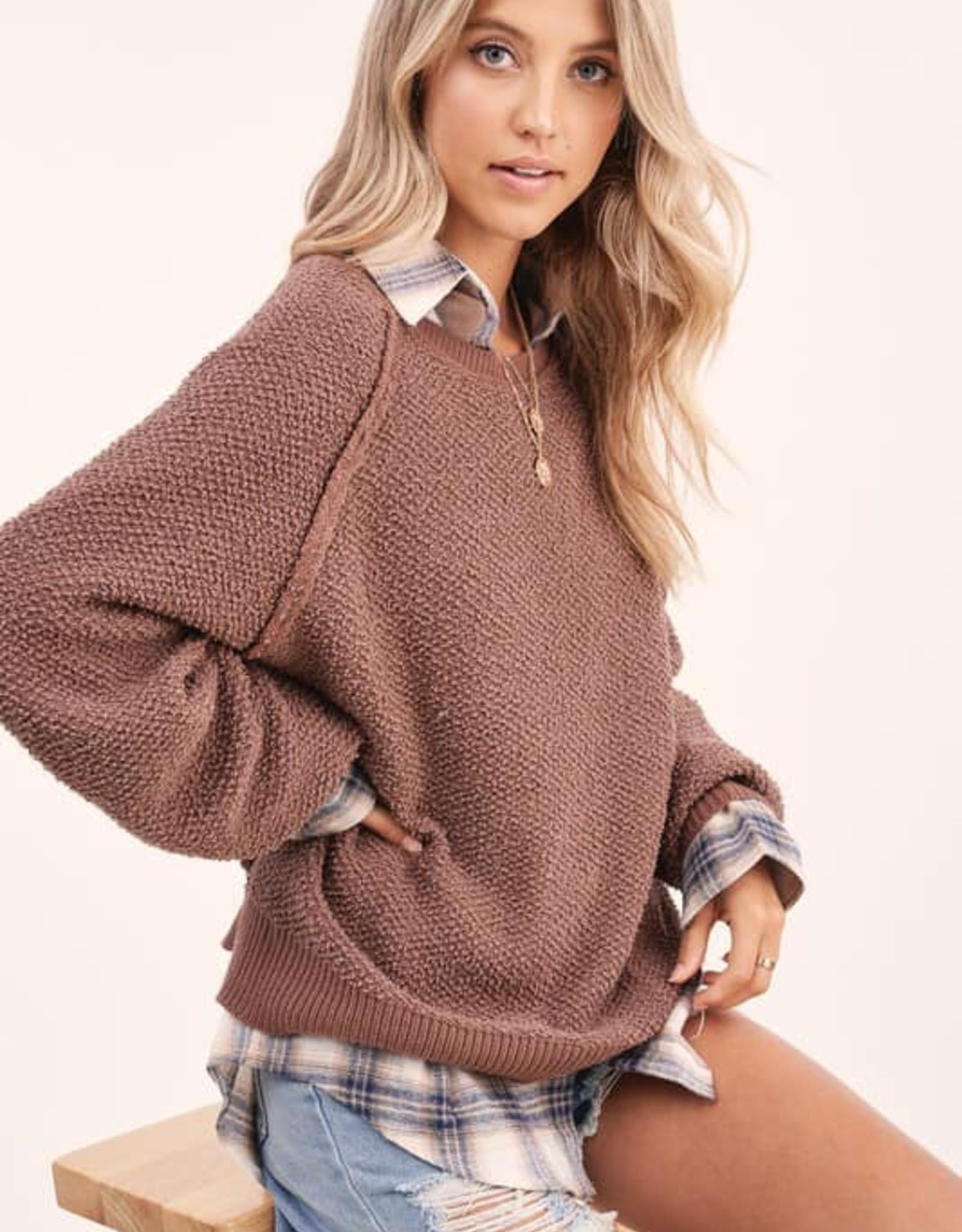 Carino Textured Sweater