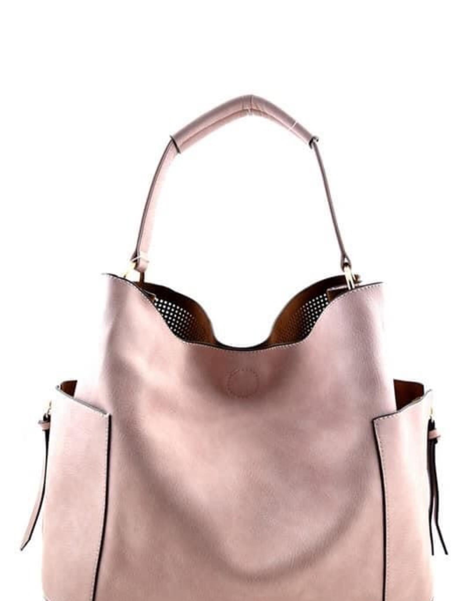 Laser-cut 2 in 1 Hobo Handbag
