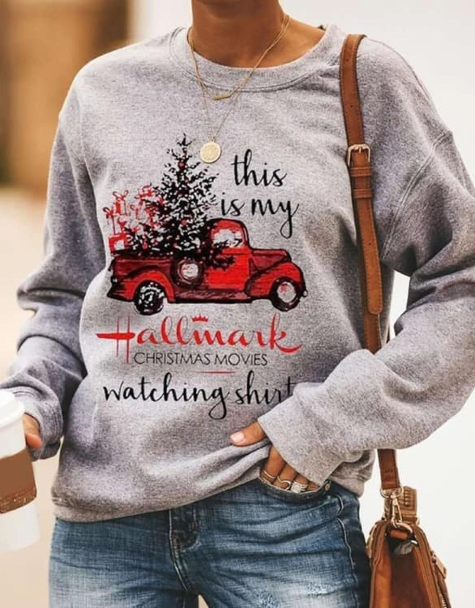 Hallmark Watching Shirt Sweatshirt