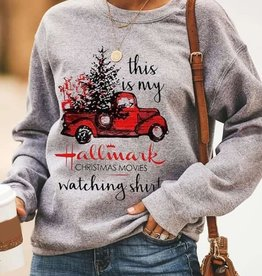 Hallmark Watching Shirt Sweatshirt