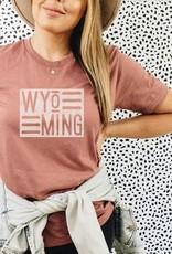 Wyoming State Graphic Tee