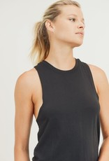Twist Back Racerback Athleisure Tank Top