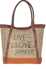 Live Love Wander Tote