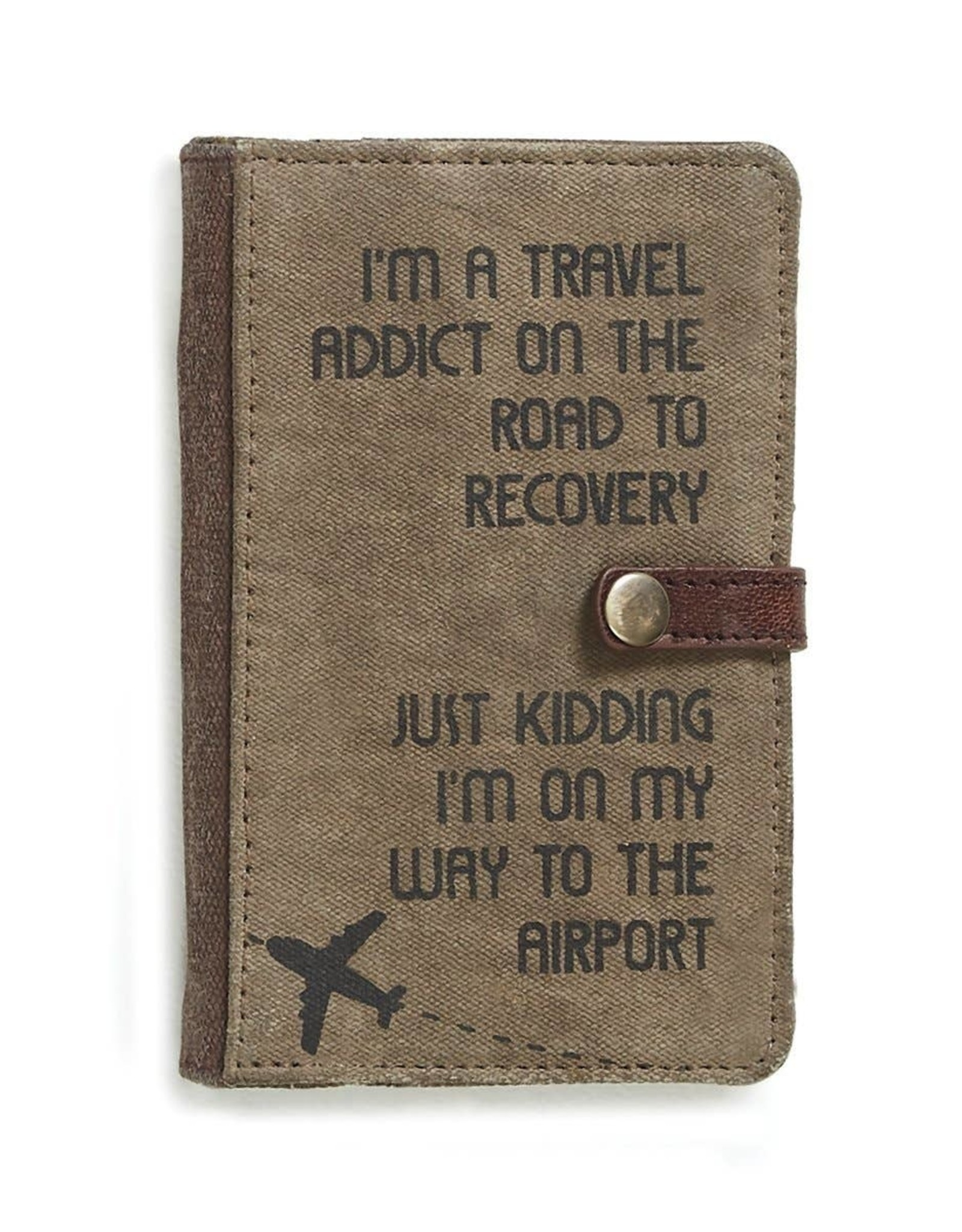 Canvas Travel Passport Wallet