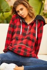 Tartan Pullover Jacket
