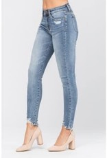 Judy Blue Destroyed Hem Jeans
