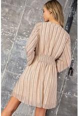 Boho Smocked Dress